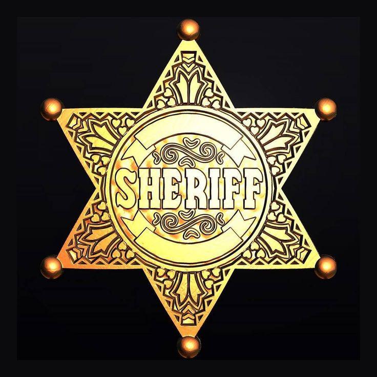 звезда шерифа картинка вектор всего