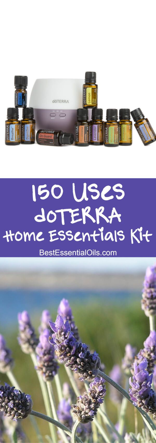 150 Uses of the Home Essentials doTERRA Starter Kit https://www.mydoterra.com/bethanyhudson/#/