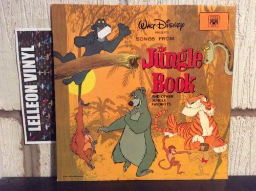 The Jungle Book LP MAL1133 60's 1967 Release Film Movie Cartoon Music:Records:Albums/ LPs:Children's