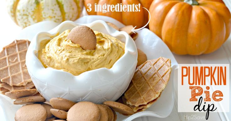 Easy Pumpkin Pie Dip Recipe (Just 3 ingredients) could be lightened up easily.