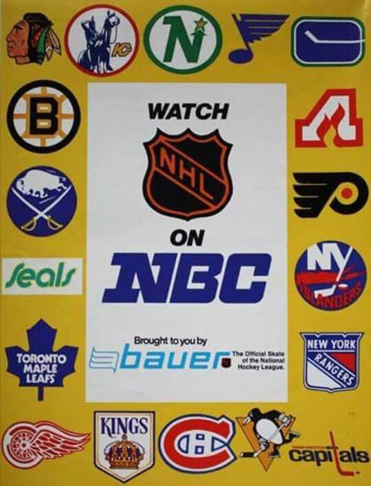 Nice NHL on NBC ad from the mid-1970s