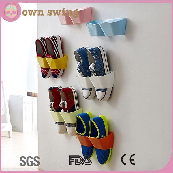 Creative Plastic Wall Mounted Shoes Rack For Entryway Over The Door Shoe Hangers Organizer Hanging Shoe Storage Solutions Racks , Find Complete Details about Creative Plastic Wall Mounted Shoes Rack For Entryway Over The Door Shoe Hangers Organizer Hanging Shoe Storage Solutions Racks,Plastic Wall Mounted Shoes Rack,Creative Shoe Hangers,Hanging Shoe Storage Racks from -Hefei Ownswing Trading Co., Limited Supplier or Manufacturer on Alibaba.com