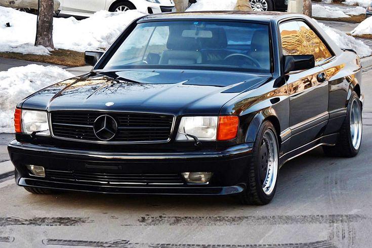 In Springfield/USA wird ein besonders seltener Mercedes-AMG aus dem Jahr 1990 zum Kauf angeboten. Es handelt sich um einen 560 SEC mit Breitbau-Kit.