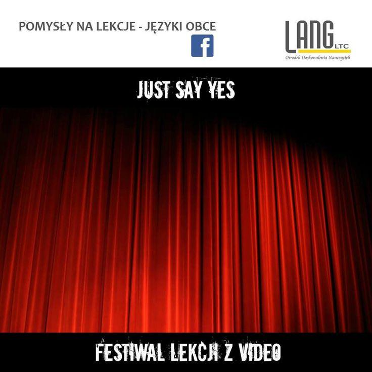 esl | lekcje z video = just say yes