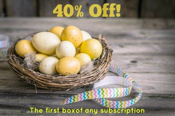 Save 40% on your first Bramble Box – an imaginative play kit subscription box for kids!   Bramble Box Easter Sale: 40% Off First Box Coupon! →  https://hellosubscription.com/2017/04/bramble-box-easter-sale-40-off-first-box-coupon/ #BrambleBox  #subscriptionbox