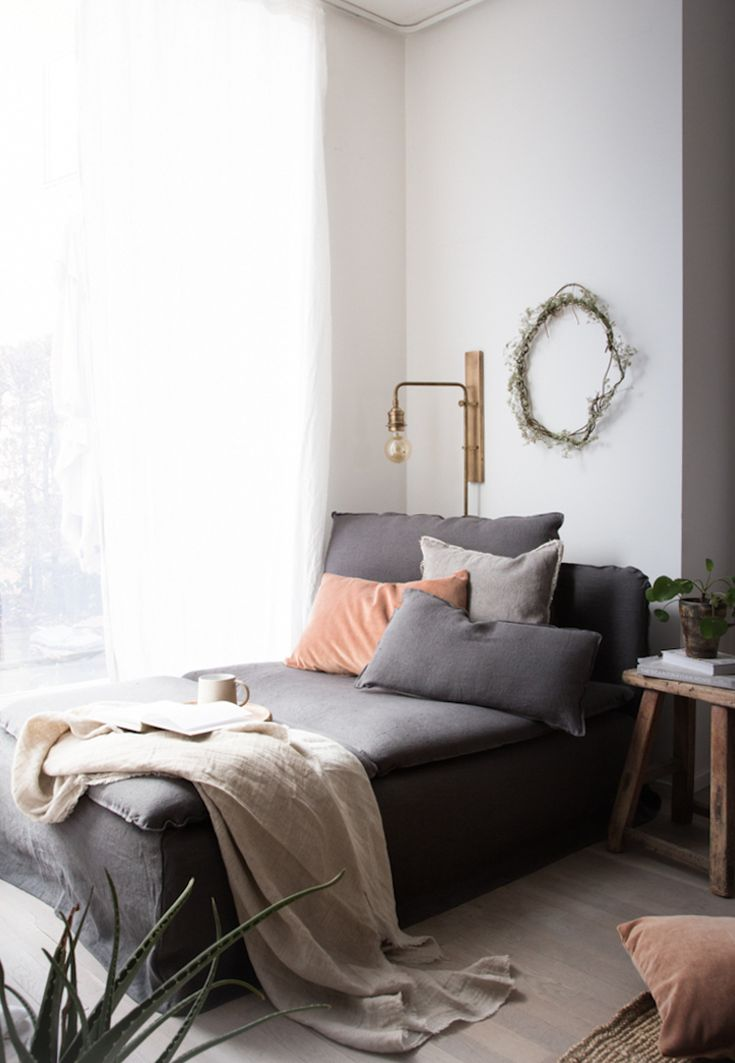 my scandinavian home: My daybed update / 15% off at Bemz!