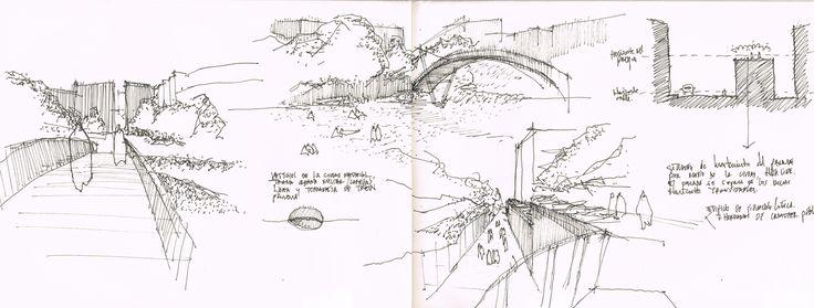 sketch promenade plant u00e9e  paris