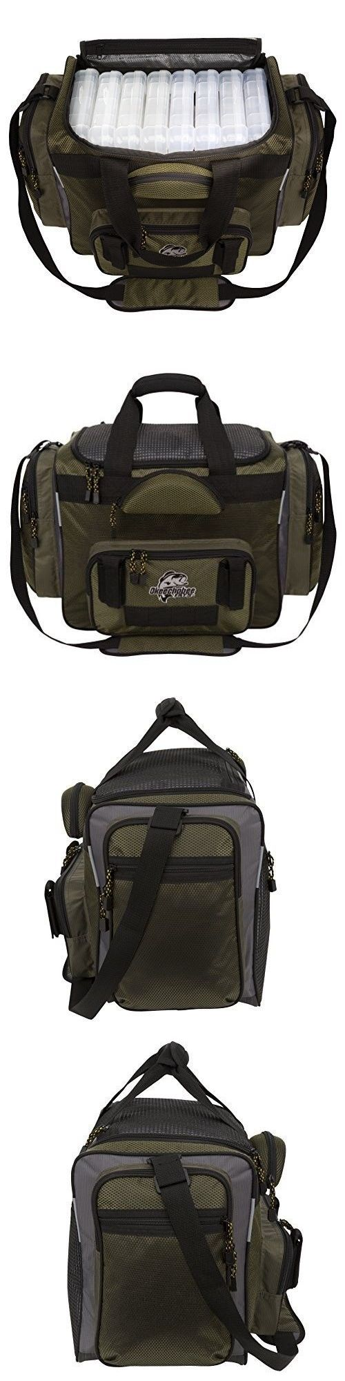 Fly Fishing Accessories 87098: Fishing Tackle Bag Soft Sided Storage Organizer Water Resistant Fabric Carry All -> BUY IT NOW ONLY: $55.68 on eBay!