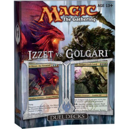 MtG Duel Decks: Izzet vs. Golgari Izzet vs. Golgari Duel Decks, Multicolor