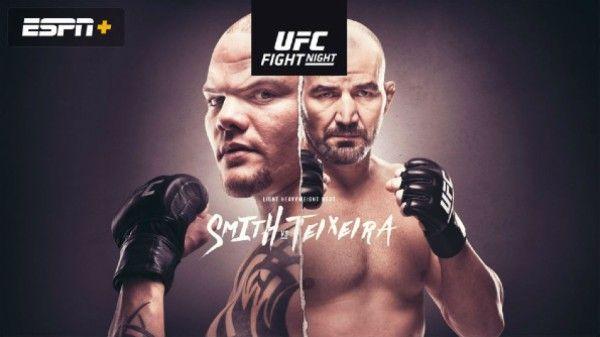 Watch Ufc Fight Night 171 Smith Vs Teixeira 5 13 2020 Full Show Online Free In 2020 Ufc Ufc Fight Night Fight Night