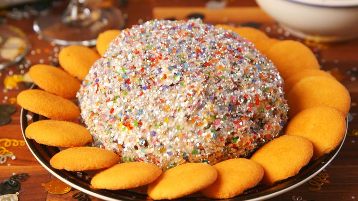 Confetti Cookie Dough Ball - Delish.com