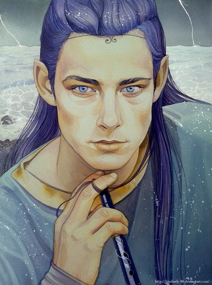 Maglor by kimberly80. He is a Noldorin Elf, 2nd son of Feanor. He is the most temperate of the sons of Feanor; he was the only one to try to relinguish his claim to the Silmarils.