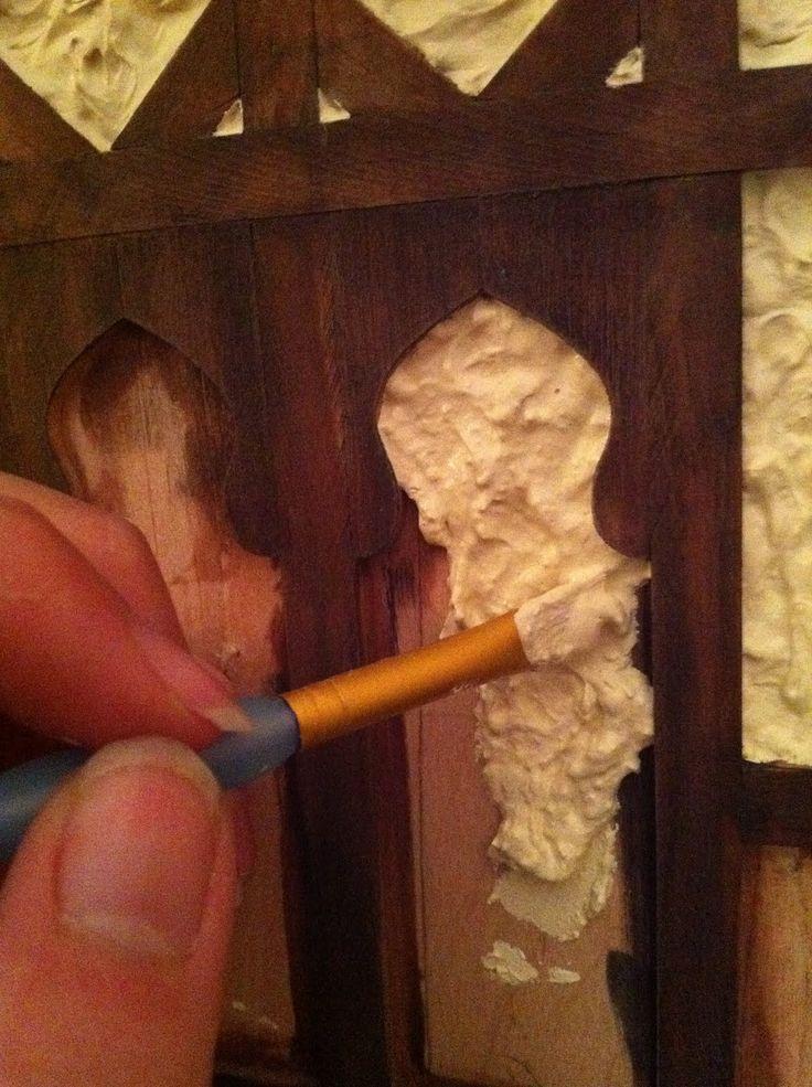 Glorious Twelfth: Dollhouse Miniature Stucco: Tudor Edition