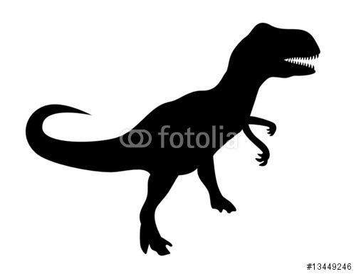 """Téléchargez le fichier vectoriel libre de droits """"T-Rex (Tyrannosaurus Rex)"""" créé par Pro Web Design au meilleur prix sur Fotolia.com. Parcourez notre banque d'images en ligne et trouvez l'illustration parfaite pour vos projets marketing !"""
