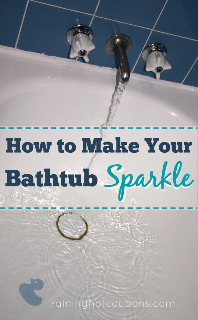 How To Make Your Bathtub Sparkle
