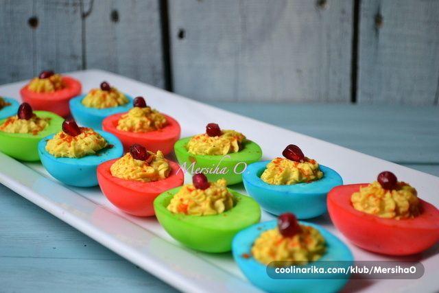 USKRŠNJA PUNJENA JAJA BUDITE ORGINALNI OVO JE SAVRŠENO SVI ĆE VAM TRAŽITI RECEPT | Kuhinjski savjeti