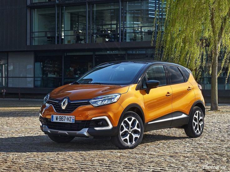 2018 Renault Captur : Le Captur restylé conserve les formes actuelles du crossover urbain et notamment une face avant inspirée de la Clio avec sa large calandre, son losange imposant.
