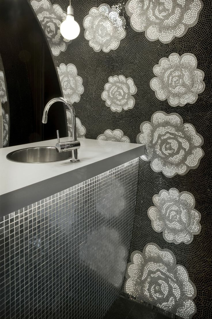 amazing flower mosaic tiles