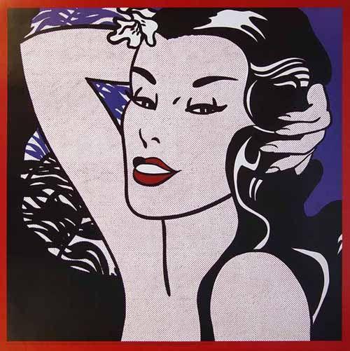 Roy Lichtenstein 1962 - LITTLE ALOHA - Oil on canvas