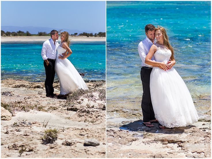 LOVE THE DRESS - Andreea & Catalin - in Crete - Greece
