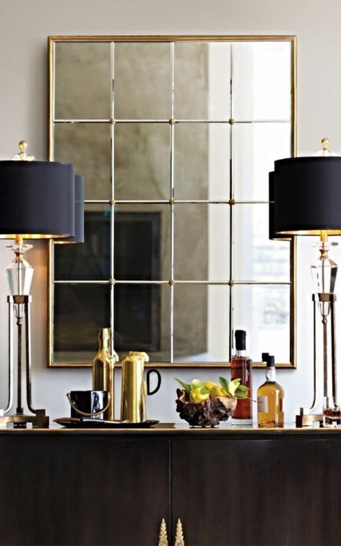 Les 25 meilleures id es de la cat gorie miroir - Grand miroir rectangulaire design ...