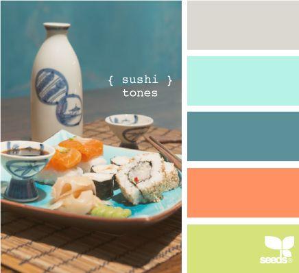sushi tones