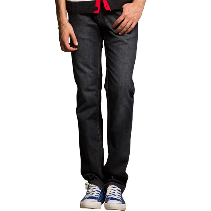 Sportica Mid Rise Straight Washed Jeans