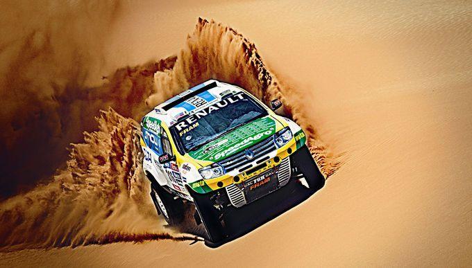 Renault Duster Dakar: Rallye-Duster mit V8-Power