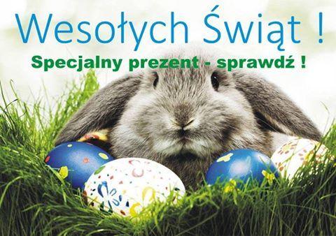 Z okazji zbliżających się Świąt Wielkanocnych przygotowaliśmy dla Państwa specjalną niespodziankę - zapraszamy do naszego sklepu internetowego po więcej szczegółów :)  Wesołych Świąt :) www.zegarmistrz.com