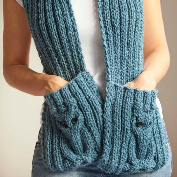 Hey, I found this really awesome Etsy listing at http://www.etsy.com/listing/117624155/blue-owl-scarf-with-pockets
