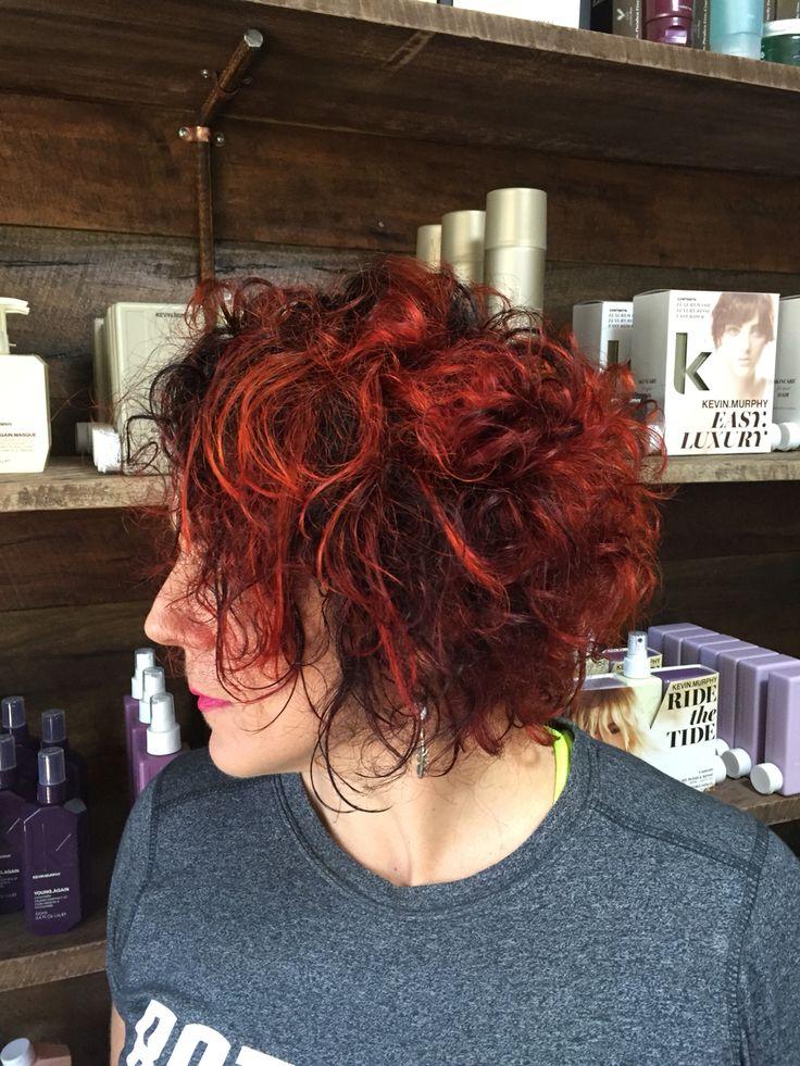 Pravana orange curls