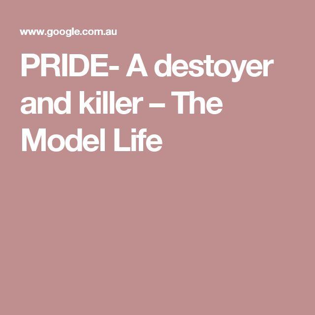 PRIDE- A destoyer and killer – The Model Life
