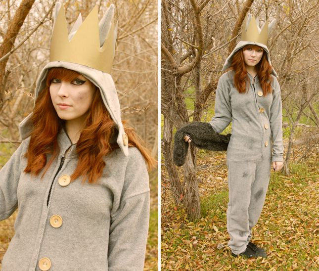 This Where the Wild Things Are Halloween costume is easy to make.