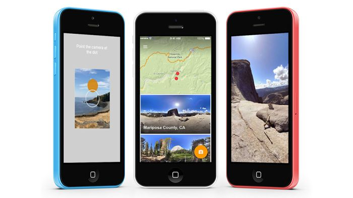 Google releases an Awesome 360-Panorama Photo Sphere app for iOS