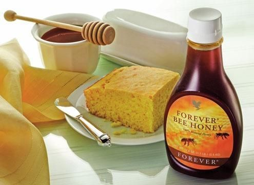 Forever Bee Honey This all-natural, delicious sweetener is loaded with nature's goodness. Easy to digest and packed with fructose and glucose, plus a large number of micronutrients. Perfect for replacing sugar in your diet.