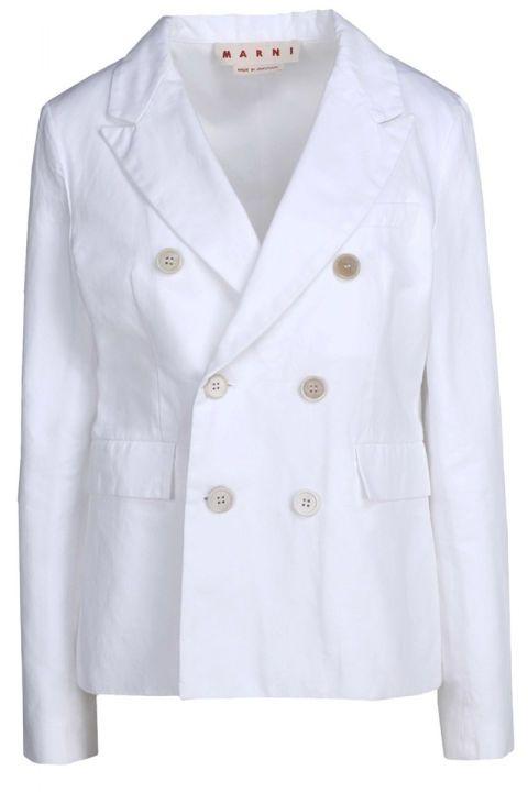 Marni blazer, $1,000, shopBAZAAR.com.