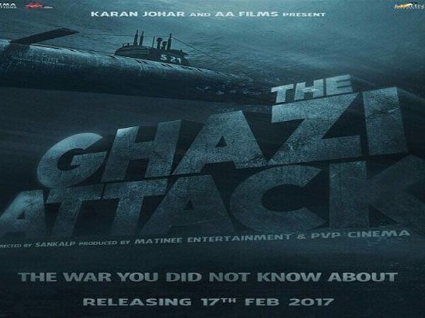 Dive deep into 'The Ghazi Attack' with this new poster starring Rana Daggubati, Taapsee Pannu
