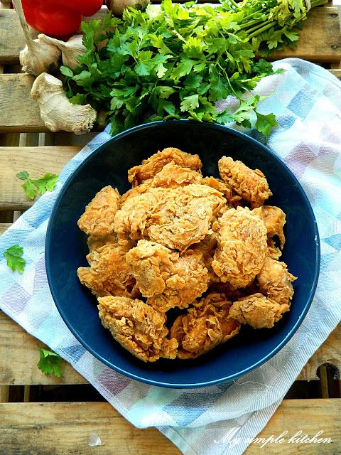 My simple kitchen: Kurczak w chrupiącej panierce