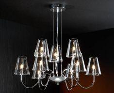 Lampade moderne : collezione SILBA 9 luci