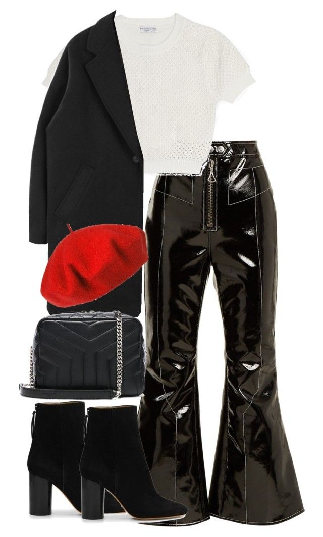 """""""Untitled #4782"""" by theeuropeancloset on Polyvore featuring E L L E R Y, Opening Ceremony, Betmar, Isabel Marant and Yves Saint Laurent"""