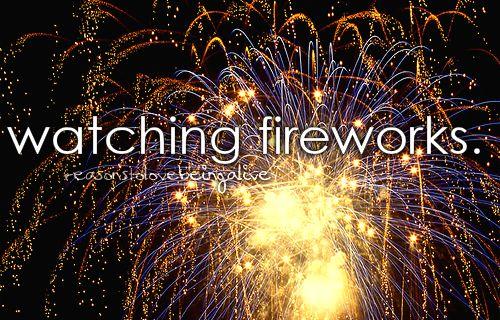 RTLBA: Watching fireworks.