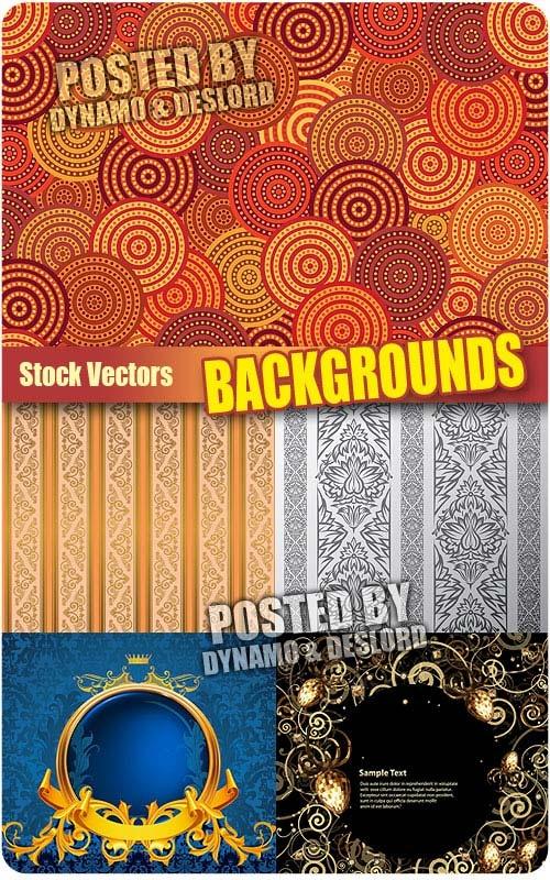 Backgrounds 3 - Stock Vectors 5 EPS |   JPG Preview | 28 Mb rar