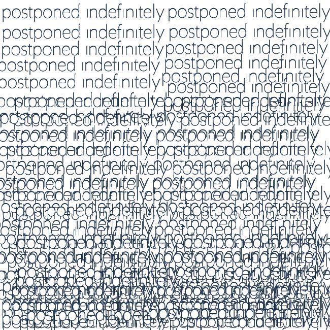 #postponed #lazy #print #pattern #fun #anxiety #wrappingpaper #font