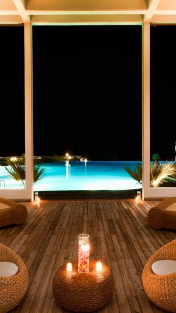 Blue Swimming Pool Luxury Vacation Accommodation Android