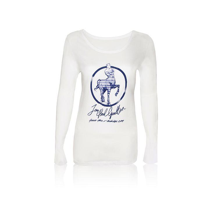 Packshot T-Shirt Collector Femme, Jean-Paul Gaultier