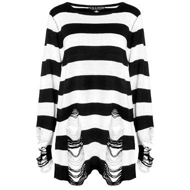 Addams Family inspired sweater from Killstar. £39.99.