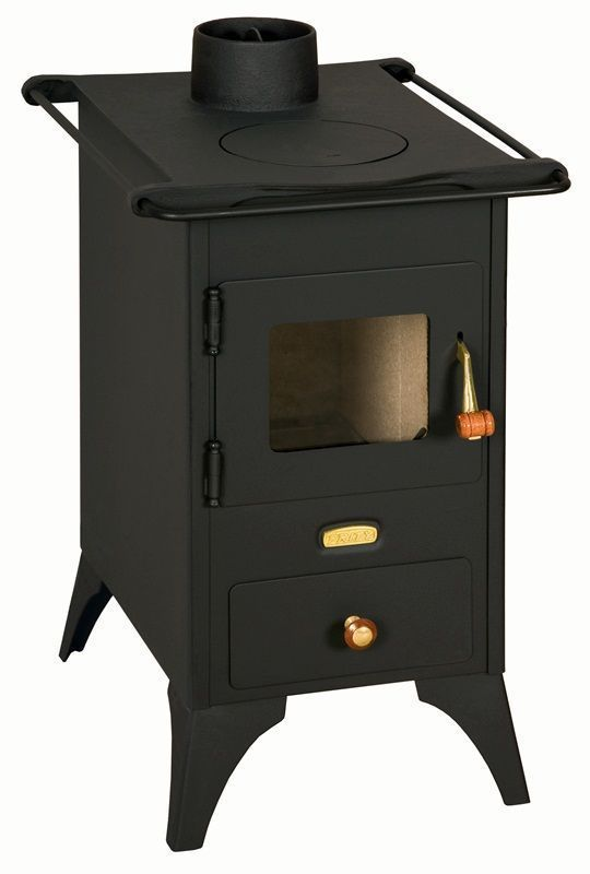 5kW Small Multi Fuel Wood Coal Burning Stove Log Burner Solid Steel Cast Iron | eBay £152