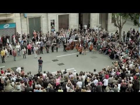 Som Sabadell Flashmob (Beethoven 9th Symphony, finale)
