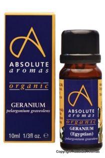 Absolute Aromas-Óleo essencial biológico de Gerânio