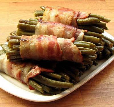 """""""Anya, ez isteni!..."""", avagy Gabojsza konyhája: Baconos zöldbab rőzsék"""